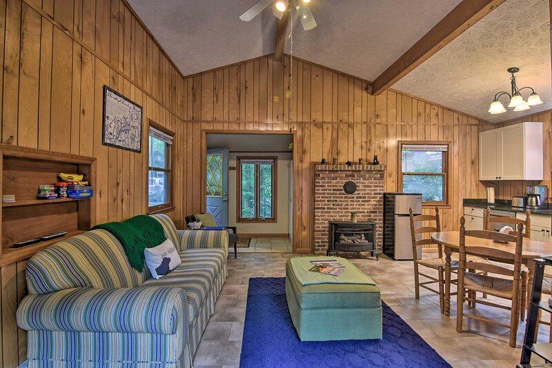 NEW! Linville Land Cabin w/ Community Amenities!, holiday rental in Jonas Ridge