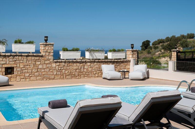Zen Luxury Home, Family Sea Escape!, vacation rental in Stavromenos Rethymnis