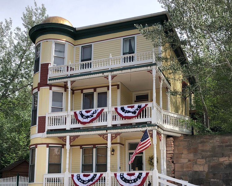 """Historic, """"Burdette House""""-Vacation Rental, holiday rental in Hot Springs"""