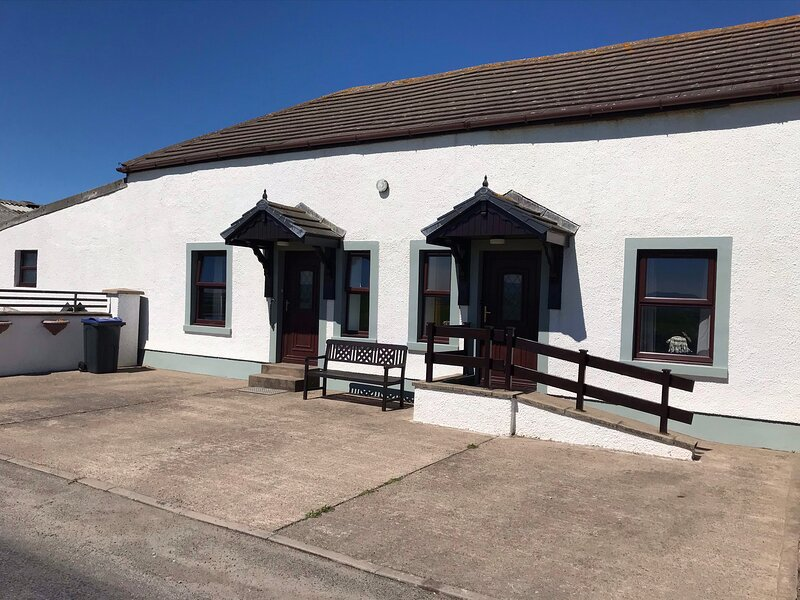 Dove/ seaview holiday cottages, Ferienwohnung in Abbeytown