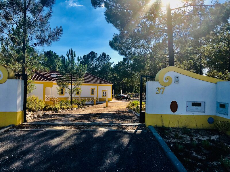 Villa Sal - Spacious, private Apartment in a Villa with pool (Herdade Montalvo), holiday rental in Alcacer do Sal