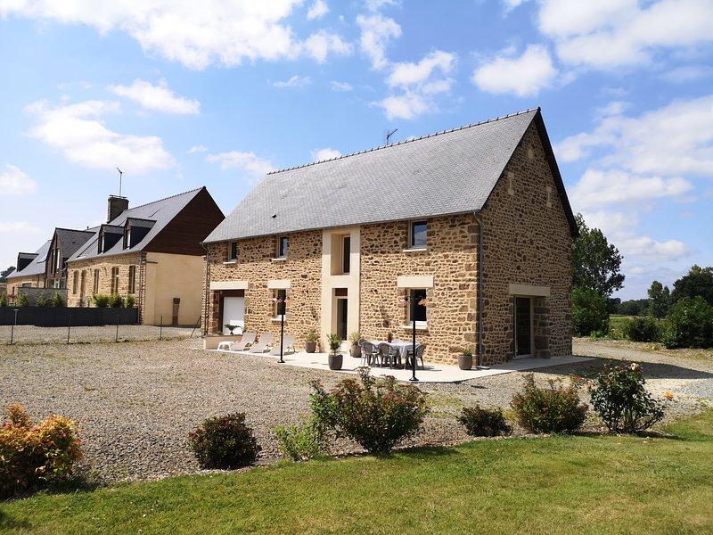 Maison de campagne Mon Pré Vert 4* pour 8 personnes, casa vacanza a Fougerolles-du-Plessis