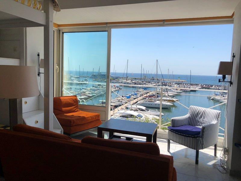Amazing Sea View Apartment in Golfe-Juan, holiday rental in Golfe-Juan Vallauris