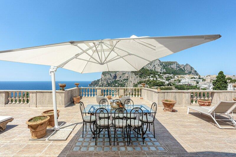 Penthouse Quattro Colonne, Capri, casa vacanza a Capri