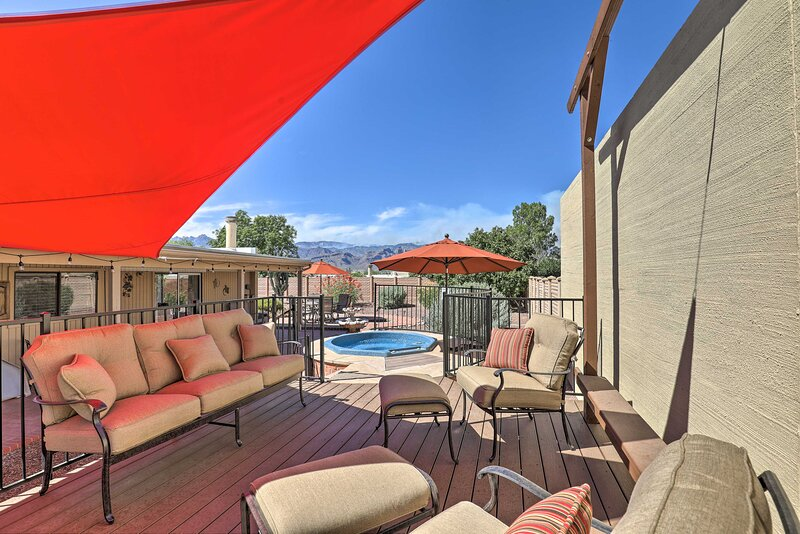 NEW! Tucson Escape w/ Patio, Yard + Community Pool, holiday rental in Catalina Foothills