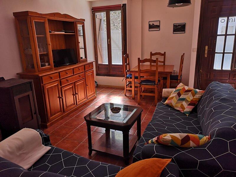 Apartamento con gran terraza en Canfranc, vacation rental in Anso
