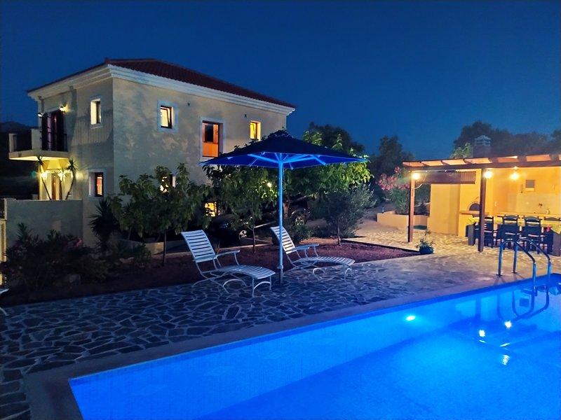 Villa Farangi, holiday rental in Kastellos