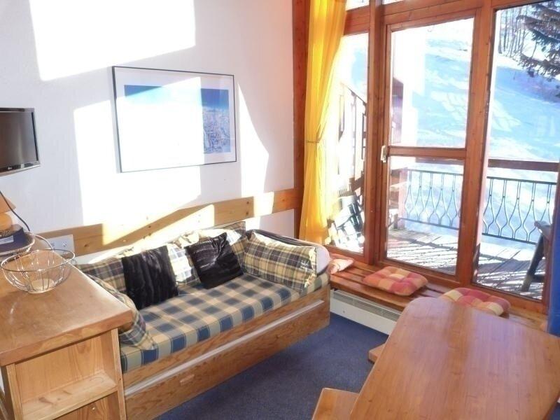 Duplex pour 5 personnes dans le village de Charmettoger aux Arcs 1800, holiday rental in Peisey-Vallandry