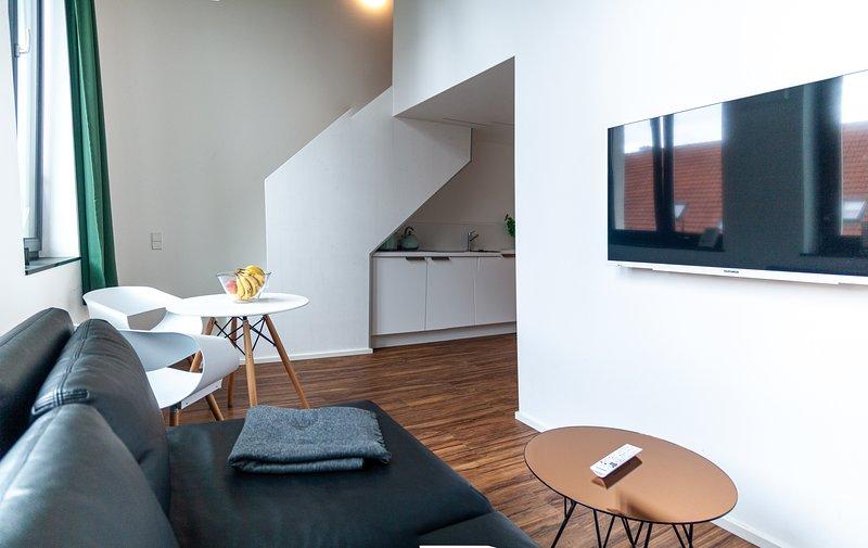 Studio Apartment im Herzen von Neu-Ulm, alquiler vacacional en Gunzburg