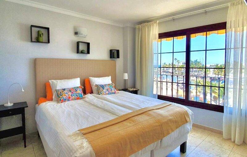 Dormitorio vistas al mar
