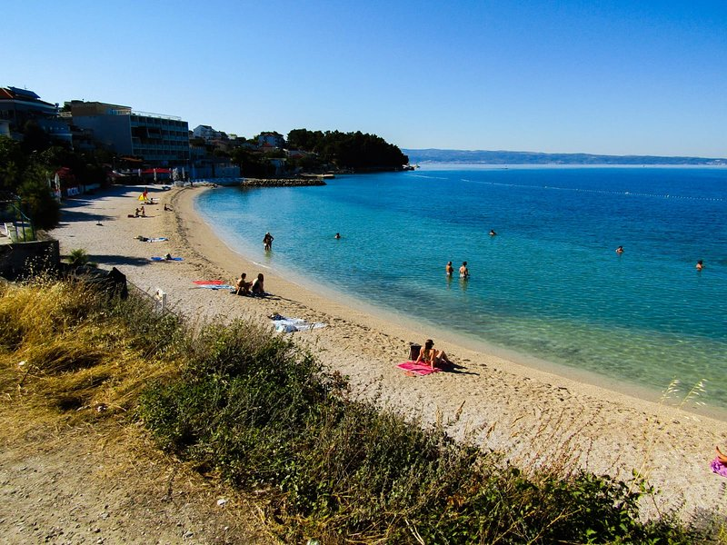 Local pebble beach - 350 meters from the apartment