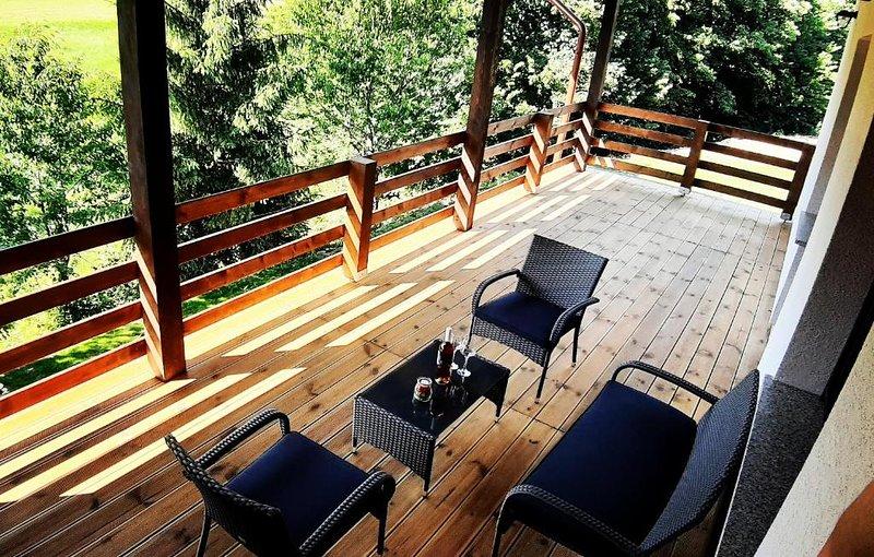 Villa Green Serenity Studio Apartments, alquiler de vacaciones en Dreznicko Seliste