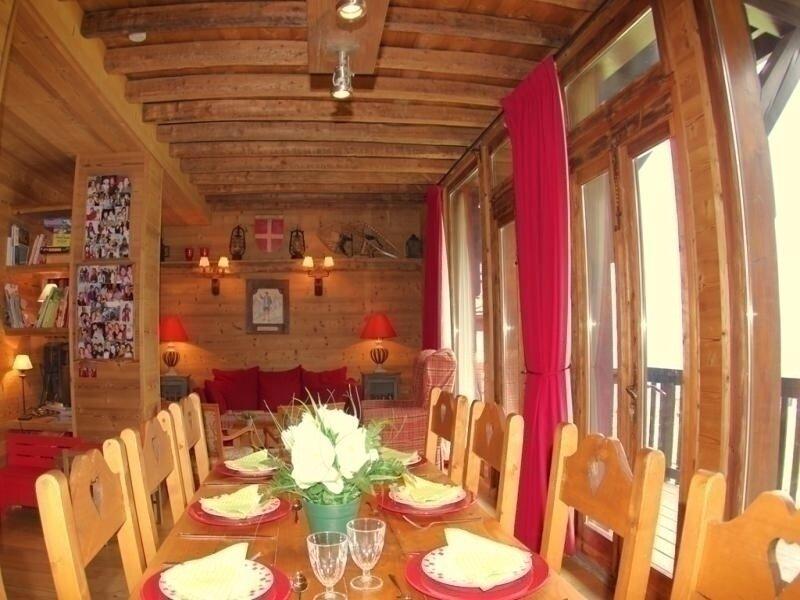 Les Jardins d'Hiver, casa vacanza a Les Avanchers-Valmorel