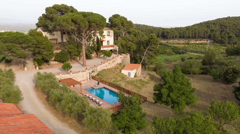 Mas Barbat Miramar Tarragona, holiday rental in Figuerola del Camp