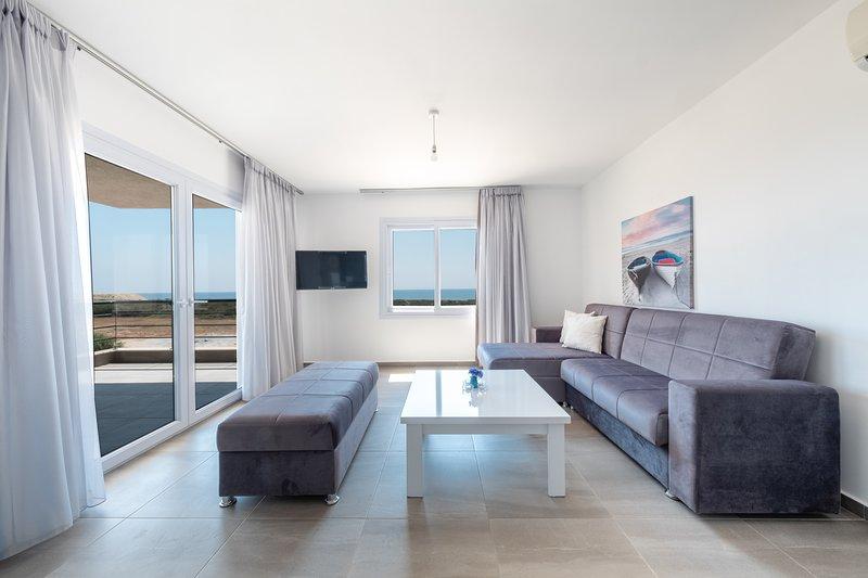 Mandaloun Launa Apartment with SeaView, alquiler vacacional en Yeni Erenkoy