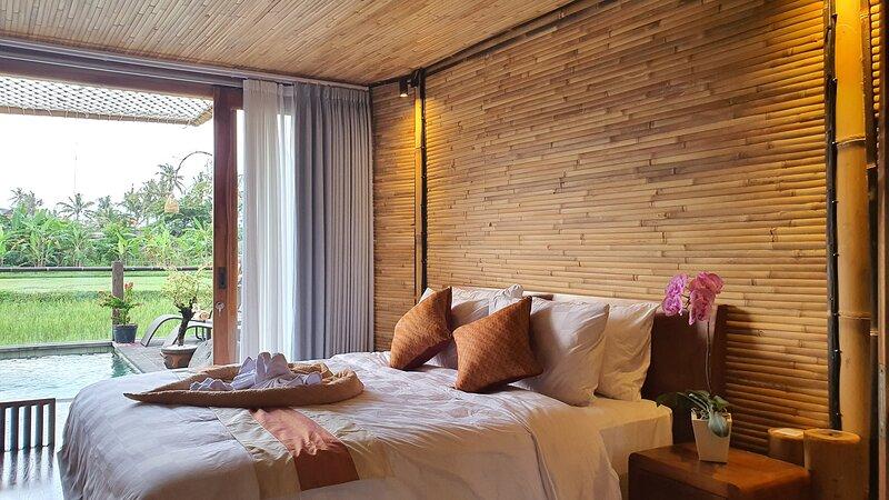 Villa Gesing Mas, Bamboo Villa, holiday rental in Buruan
