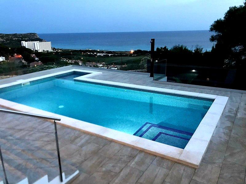 Villa con Panorámicas Vistas, aluguéis de temporada em Alaior