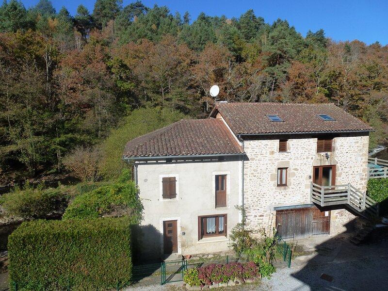 GITE DU BARRAGE, holiday rental in Saint-Sornin-Leulac