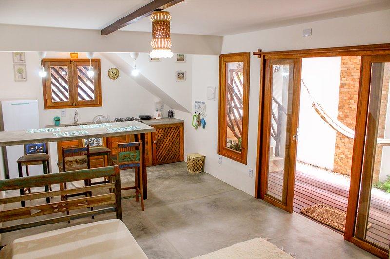 Casa Mirella Jeri- Lindos Apartamentos ótima localização, location de vacances à Jericoacoara