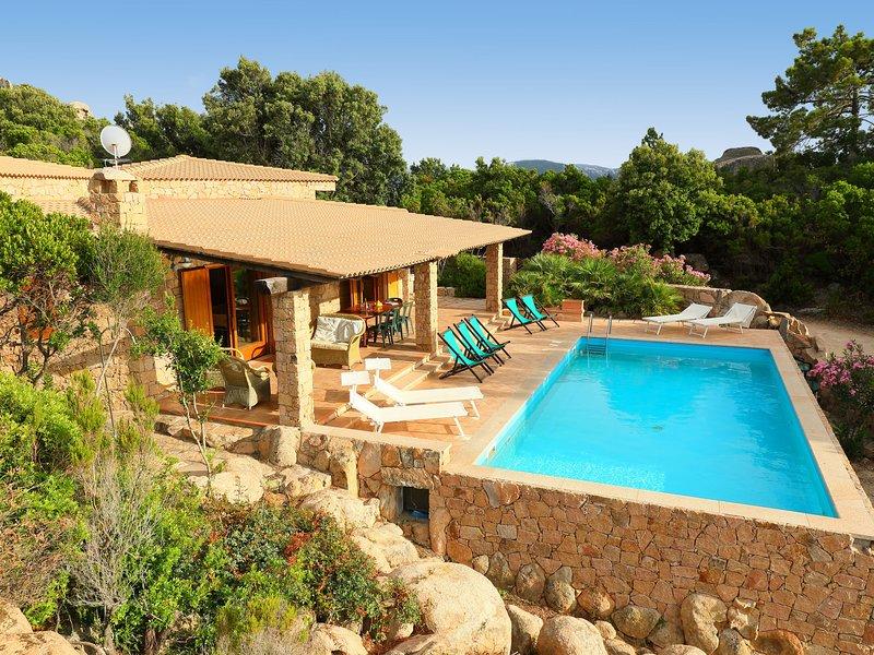 Petra Rossa, vacation rental in Costa Paradiso