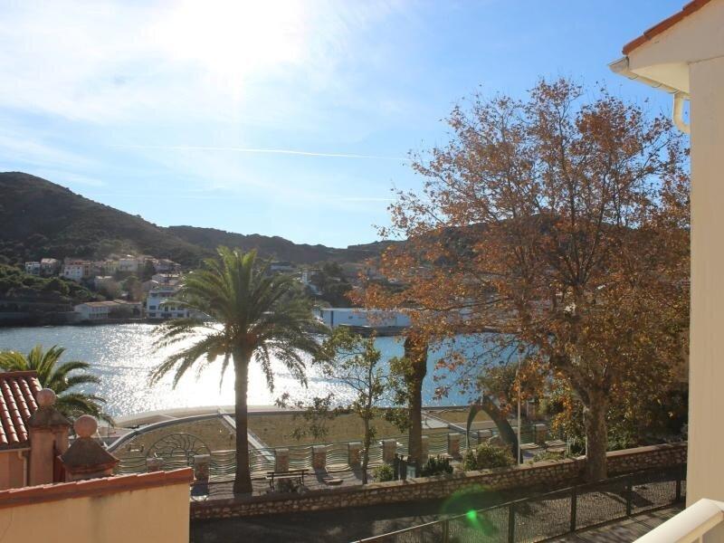 Idéalement situé, appartement T3 avec vue mer, alquiler de vacaciones en Port-Vendres