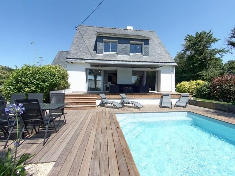 REF 426 - GUIDEL MAISON 4 CHAMBRES DONT 1 EN RDC AVEC PISCINE 4X7, vacation rental in Guidel