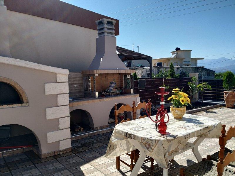 Villa Asterousia, location de vacances à Tsoutsouras