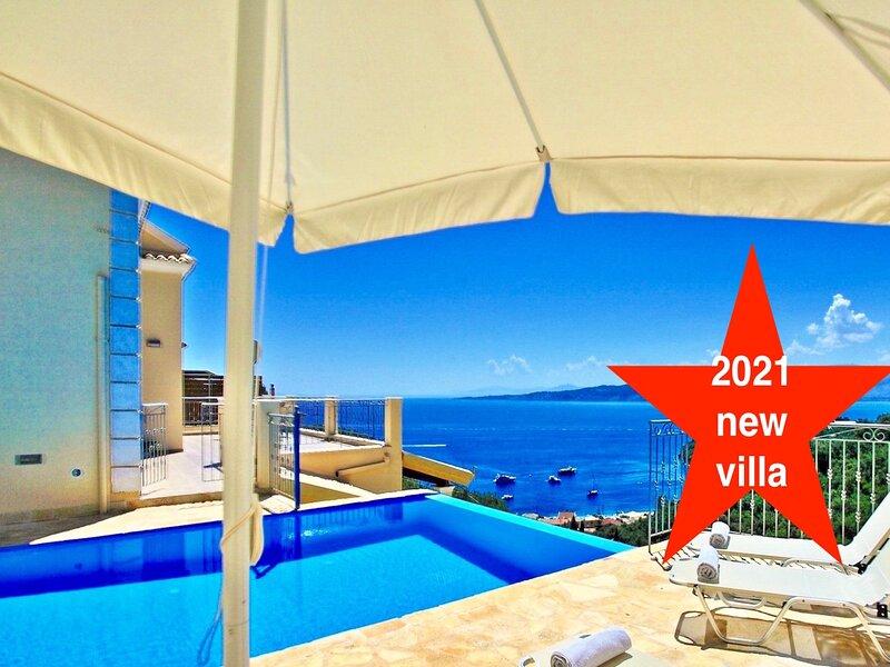 Kalami Beach Luxury Villa with private pool, location de vacances à Kalami