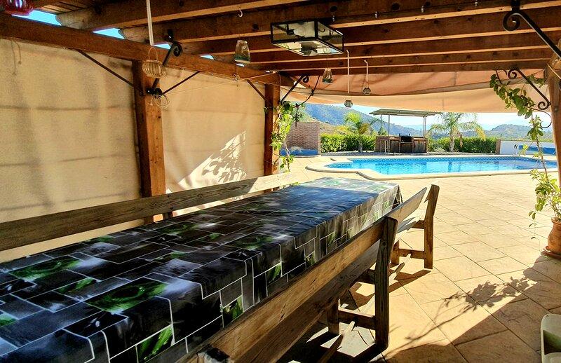 Villa Marylou en Andalousie, alquiler de vacaciones en Vélez-Málaga