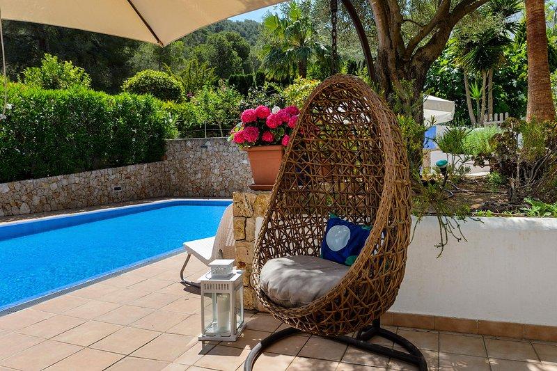 New! Villa Blanca Santa Eulalia, aluguéis de temporada em Siesta