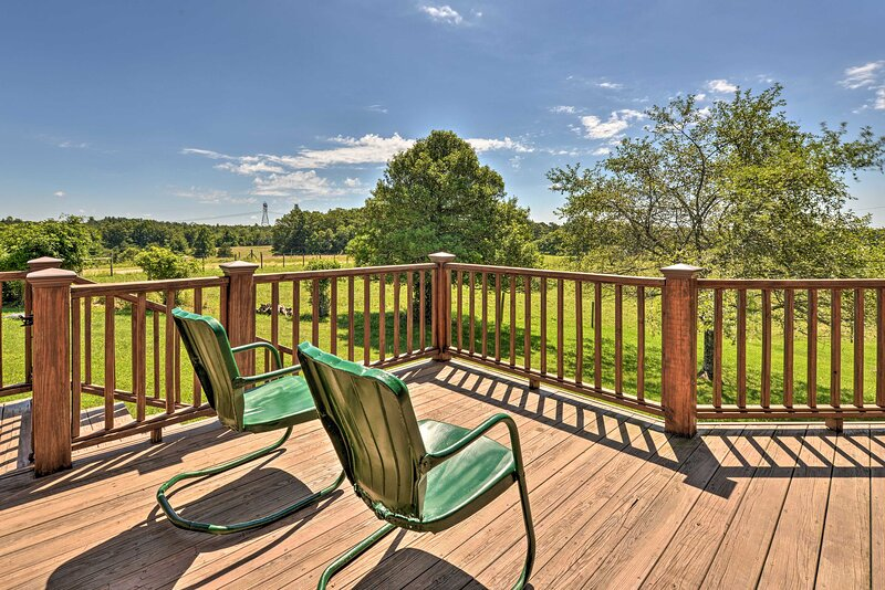 Deck | View of Horse Pasture