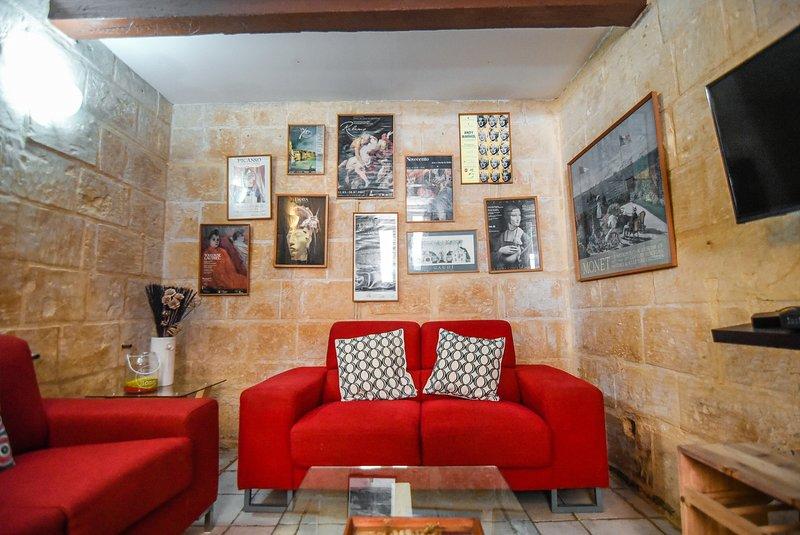Valletta centre - 1 bedroom historic townhouse, aluguéis de temporada em Valletta