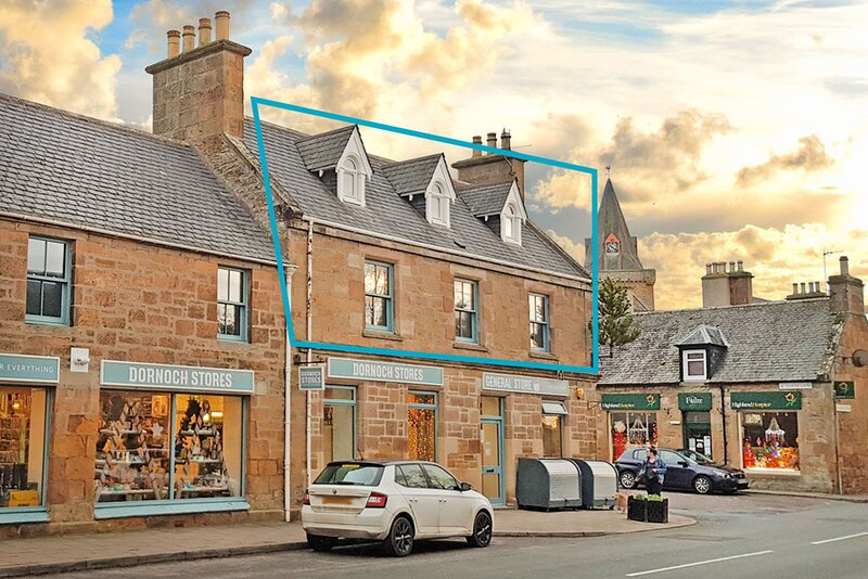 Flat 2, Old Stable Yard, holiday rental in Dornoch