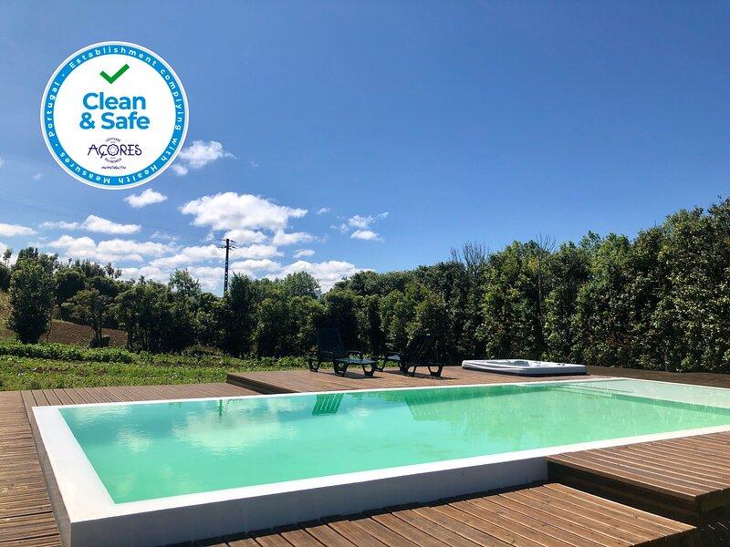 Quinta dos Sabores Garden House, holiday rental in Ribeira Grande