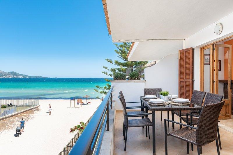 BELLAVISTA - Apartment for 6 people in Port d'Alcudia, casa vacanza a Port d'Alcudia