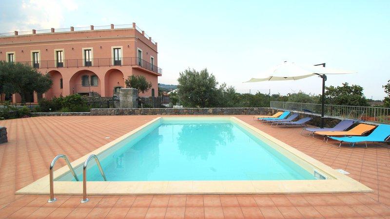 Terrace Etna, holiday rental in Santa Venerina