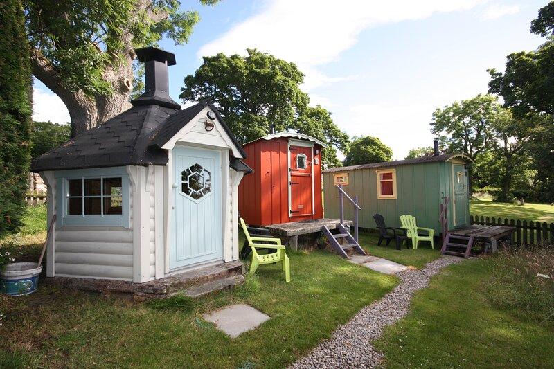 Balranald Shepherd's Huts, vacation rental in Brora