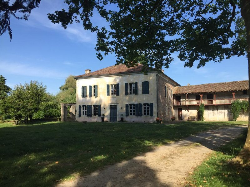 Elegant & Spacious Maison de Maitre, vacation rental in Poudenx