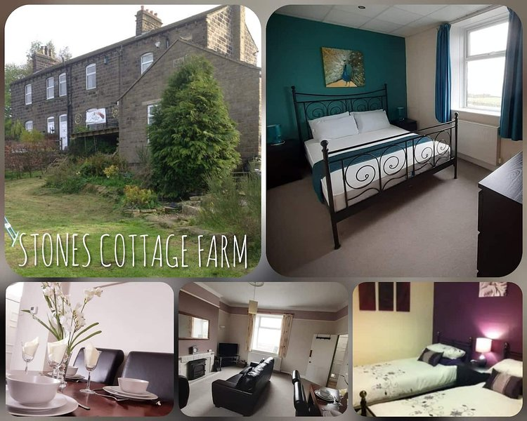 Stones Cottage Farm, holiday rental in Oxenhope
