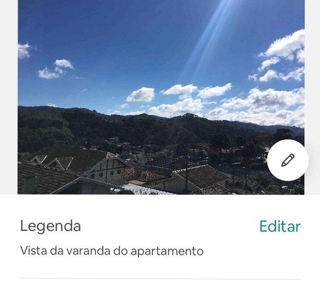 Apt. inteiro Abernéssia-4 pessoas- Aceita Pets, holiday rental in Campos Do Jordao