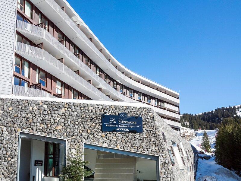 CGH Résidence & Spa Le Centaure (FLA104), aluguéis de temporada em Flaine