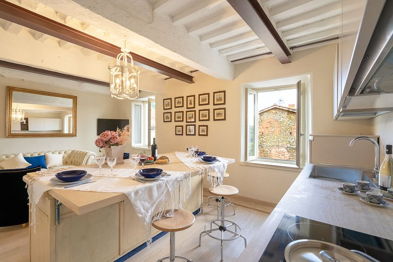 Casa Collodi - charming house with garden and jacuzzi, holiday rental in Collodi