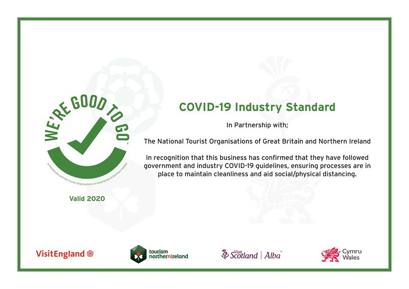 """ALTIDO London recently got an accreditation and certificate from the travel & tourism association """"Visit England"""""""