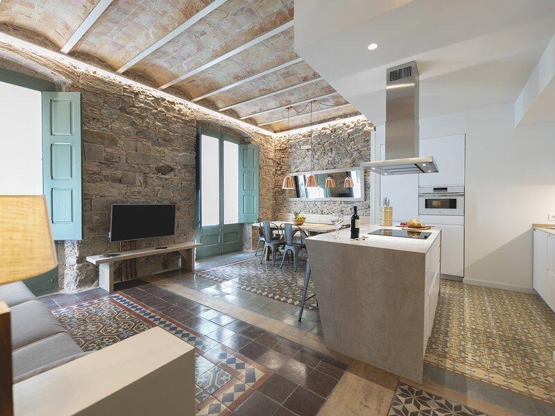 Bravissimo Mercaders 3; Unique 3 bedroom apartment – semesterbostad i Quart