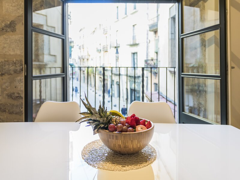 Renovated and modern apartment in the heart of Girona (1B) – semesterbostad i Quart