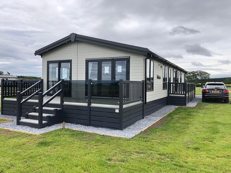 Saltire Double Lodge, Stewart's Resort, St Andrews, holiday rental in St Andrews