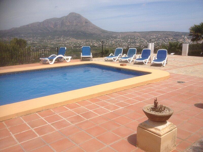 Villa Las Vistas, holiday rental in Javea
