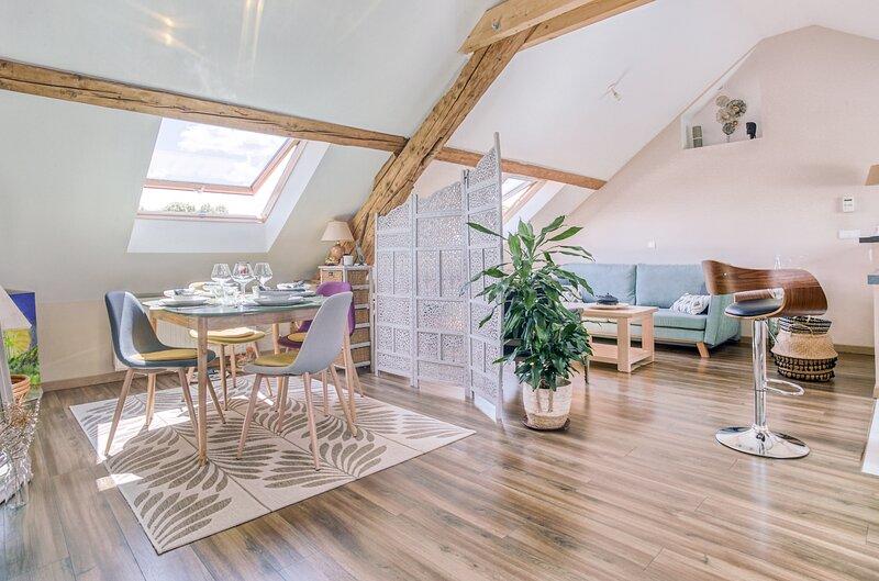 Satin - Appartement avec jardin - Giromagny, Ferienwohnung in Danjoutin