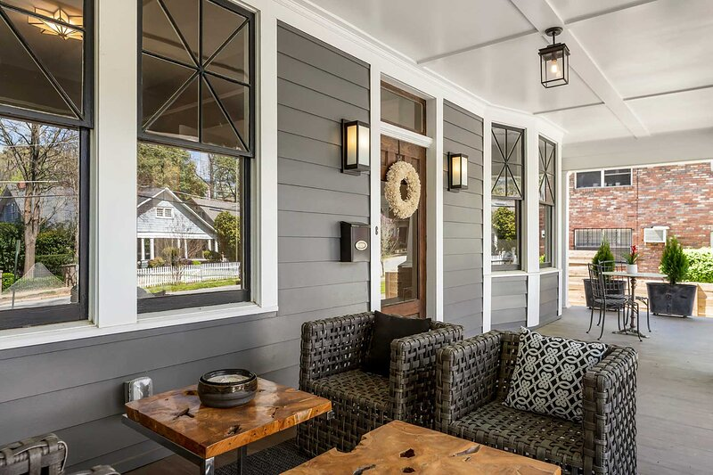 The front porch will be your favorite place to spend your time.