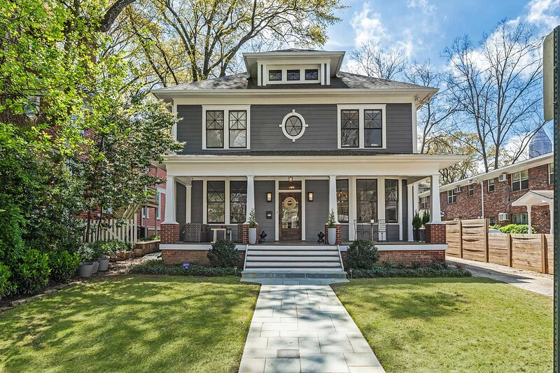 Experience Atlanta from this 4-bedroom, 3-bathroom vacation rental home.